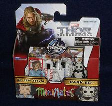 Marvel MiniMates 53 Thor: The Dark World DR. ERIK SELVIG & DARK ELF Figure 2 PK
