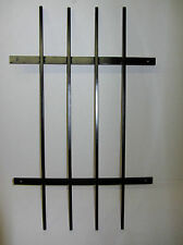 New  Security Window Grill Bars 500mm wide and 900mm tall