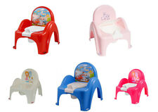 BABY TODDLER TOILET POTTY CHAIR WITH MELODIES KIDS TRAINING SEAT