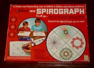 1967 SPIROGRAPH COMPLETE DRAWING SET KENNER'S #401 w/ORIGINAL FAO SCHWARZ LABEL