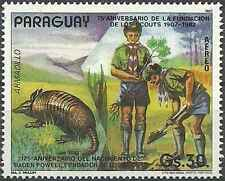 Timbre Animaux Scoutisme Paraguay PA899 ** lot 17246