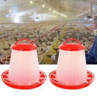 Auto Plastic Chicken Poultry Hen Drinker Food Feeder Waterer Pet Supply