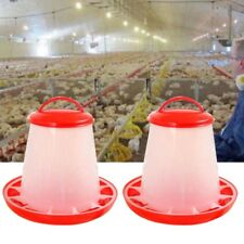 Auto Plastic Chicken Poultry Hen Drinker Food Feeder Waterer Pet Supply