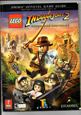 LEGO INDIANA JONES THE ADVENTURE CONTINUES PRIMA OFFICIAL GAME GUIDE VG COND
