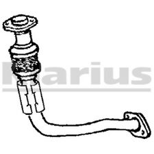 1x KLARIUS OE Quality Replacement Exhaust Pipe Exhaust For TOYOTA Diesel