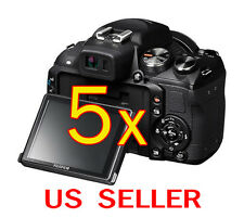 5pcs Fujifilm FinePix HS25EXR Clear LCD Screen Protector Guard Shield Film