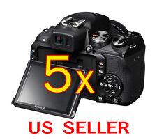 5pcs Fujifilm FinePix HS25EXR Clear LCD Screen Protector Guard Shield Film