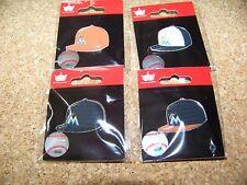 4 - Miami Marlins logo baseball cap pins hat pin NEW for 2015