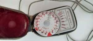 Vintage Weston Master V Exposure/Light Meter + Case - Untested
