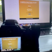 Nikon D60 DSLR Camera Body Super Low Shutter Count 2% Usage