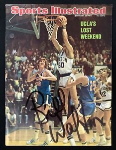 Bill Walton Signed Sports Illustrated 2/25/74 No Label UCLA Bruins Auto HOF JSA