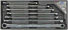 Welzh Werkzeug 7-Piece Extra Long Double Ring Ratchet/Fixed Spanner Set 8-19mm