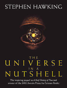 STEPHEN HAWKING: THE UNIVERSE IN A NUTSHELL! HARDBACK   READ and UNDERSTAND!