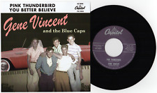 "GENE VINCENT -""PINK THUNDERBIRD"" b/w ""YOU BETTER BELIEVE"" HEAR BOTH"