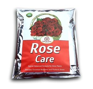 Complete Rose Plant Care 100% Quality Guarantee Organic fertilizer 1 kg