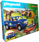 Playmobil 5669 Wild Life Camping Car, Canoe + Accessories Child Toy New