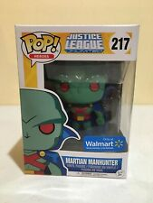 Funko POP! DC Justice League Unlimited Martian Manhunter #217 Walmart Exclusive