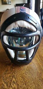 vtg sparring gear pro force helmets face mask