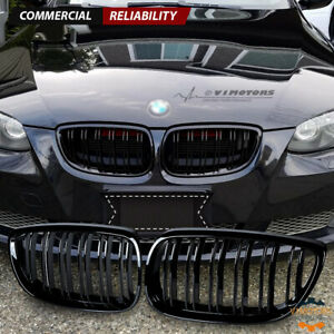 Gloss Black Front Kidney Grill Grille for BMW E92 E93 M3 328i 335i Coupe 07-10
