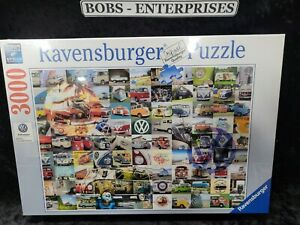 Ravensburger 16018 VW Campervan Moments 3000 Piece Puzzle for Adults NEW P-3