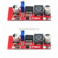 2x LM2587 DC Boost Non-isolated Step-up Charge Module 5A Switching Current 4-34V