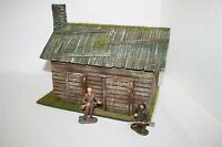 1643 Old West, Trapper, Blockhaus Angus Rarsons,  zu 7cm Sammelfiguren,Wild West