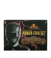 Power Rangers poder el legado Colección Conjunto De Monedas-totalmente Nuevo