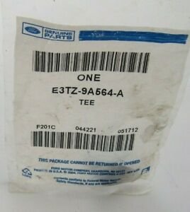 Genuine Ford E3TZ-9A54-A Fuel Pump Return Tee - Prepaid Shipping