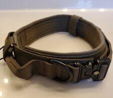 New listing Excellent Elite Spanker Ranger Green Tactical Training Dog Collar Adjustable - L