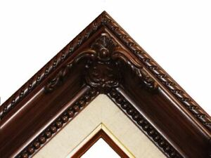 """3"""" Gold Leaf Wood Antique Picture Frame photo art wedding gallery 18x24 B5BL"""