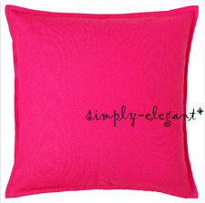 """NEW GURLI Bright PINK Cushion Cover Ikea Gurli Pillow Cover HOT PINK 20 x 20"""""""