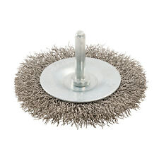 Rotary Stainless Steel Wire Wheel Brush 75mm  Grinding Wire Cups