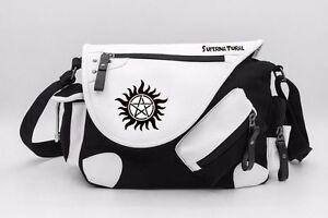 Supernatural Evil SPN Women Girls Shoulder Bag Crossbody Messenger School Bags: