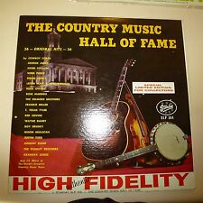 DOUBLE COUNTRY 33 RPM LP RECORD - THE COUNTRY MUSIC HALL OF FAME - STARDAY 164