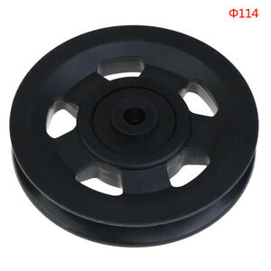 114mm Diameter Pulley Wheel Cable Gym Fitness Equipment Accessoril^lk