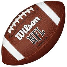 Wilson NFL Bin Football Américain Balle Junior Fauve