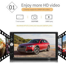 7in  Double 2 DIN Car MP5 Player Bluetooth Touch Screen Stereo Radio USB AUX