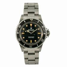 Rolex Submariner 5513 Vintage Bart Simpson R Serial Men's Automatic Watch 40mm