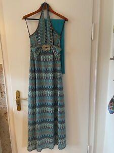 Ana Alcazar Kleid Damen Dress Damenkleid Gr. EUR 40  mehrfarbig Abendkleid