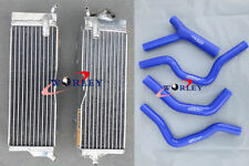 For Honda CR500 CR500R CR 500 R 1985-1988 86 87 88 Aluminum Radiator & hose BLUE