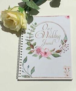A5 Notebook | Our Wedding Journal | Wedding Planner | Wedding Notebook | Book