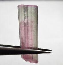 Tourmaline bicolore terminée 9,97 carats  Natural terminated bicolor tourmaline
