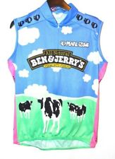Pearl Izumi Ben and Jerry's Cycling Jersey Womens Large Made in USA