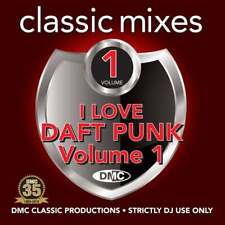 I Love Daft Punk with Continuous Megamixes, Remixes & Two Trackers DJ CD Mixes