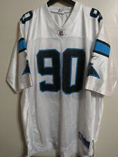 Julius Peppers Carolina Panthers Reebok Jersey XL White Football Vintage