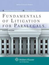 Fundamentals of Litigation for Paralegals by Maerowitz & Mauet, 2014 (HB) 180717