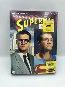 ADVENTURES OF SUPERMAN - GEORGE REEVES - SEASONS 3 & 4 - (5) DVD SET - SEALED