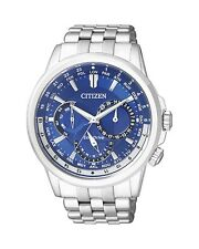 Citizen BU2021-69L Eco-Drive WR100m Mens Solar Watch BLUE NEW RRP $650.00