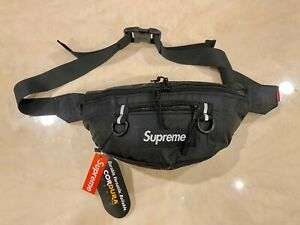 Brand New Supreme Waist Bag Fanny Pack SS19 Black