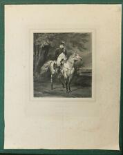 Napoléon en 1815,d'après Horace Vernet, lithographié par Marin Lavigne, XIXème